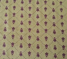 Laila by Laura Ashley for Quilting Treasures BTY Purples on Mottled Green Fabric