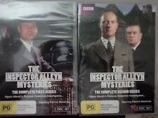 THE INSPECTOR ALLEYN MYSTERIES - Complete Series 1 & 2 5 x DVDs AS NEW! Seasons