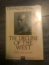 Oswald Spengler The Decline of the West Volume 1