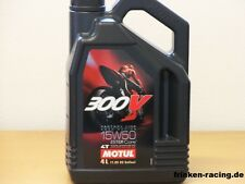 12,48€/l Motul 300V 4T Road Racing  SAE 15W-50 4 L Ester 4-Takt Rennsportöl