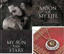 Game of Moon of My Life My Sun and Stars Khal & Khaleesi Thrones Necklace Film