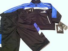 new Boys OLD SCHOOL Nike MJ JORDAN size 12 months 2pc Jacket Pants set Black blu