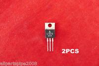 2pcs Original MITSUBISHI 2SC1972 NPN transistor  output power amplifiers