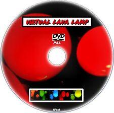 Relaxing & apaisant virtuel Lampe Magma DVD for PLASMA LCD LED tvs NEUF