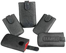 Universal Handy Tasche Titan Cover Case Etui Schwarz für Nokia X7