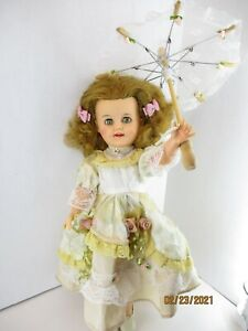 """1950's Shirley Temple Doll Ideal ST-15-N 1950's Vintage Vinyl 15"""""""