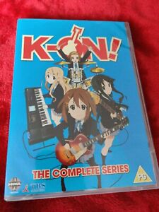 K-ON! DVD 4 DISC BOXSET UK REGION 2 EPISODES 1-14 S1