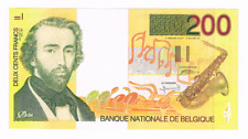200 Frank/Francs  type Adolphe Sax   1996-2001   Morin 70b   UNC