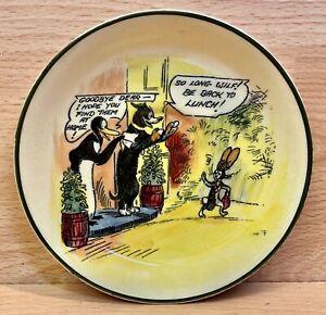 "Royal Doulton Daily Mirror ""Wilfred"" D4741 Character Dish."