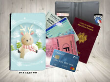 noel  002 christmas porte carte identité grise permis passeport