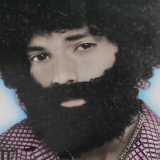 Fun Curly Afro Beard Artificial Mustache Macho Facial Hair Mens Makeup Prop