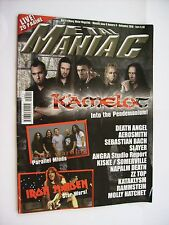 METAL MANIAC #09/2010 - KAMELOT - IRON MAIDEN - FATES WARNING - DEATH ANGEL