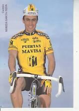 CYCLISME carte cycliste CASIMIRO MOREDA GARCIA TIZON équipe PUERTAS MAVISA