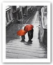 CITYSCAPE ART PRINT Bristol Rain 1954 Joseph McKeown