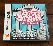 Nintendo DS Big Brain Academy ~ Complete w/ Game + Box + Instructions