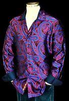 "Robert Graham ""Paisley Park"" NWT $548 Limited Edition Silk Paisley Shirt 3XL"
