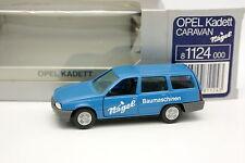 Gama 1/43 - Opel Kadett Wohnwagen Nagel