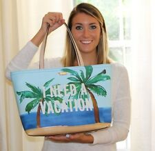 Kate Spade Breath of Fresh Air I  Need A Vacation Francis Tote Boutique Version