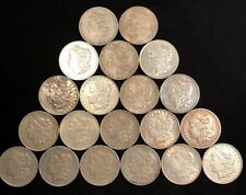 Great Roll of 20 Different Morgan Silver Dollars, Higher Grade Collector's Lot!