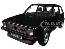 1976 VOLKSWAGEN GOLF GTI BLACK 1/18 DIECAST CAR MODEL BY NOREV 188487