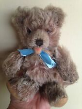 "Steiff Jointed Zotty Teddy Bear Mohair 7"" Glass Eyes Vintage Excellent NO ID NR"