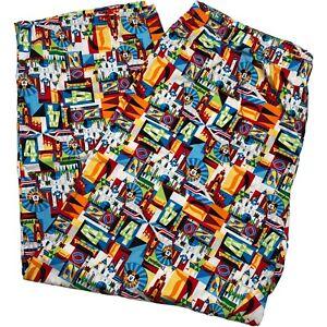 Disneyland Disney Parks Mickey Pajama Lounge Pants Cotton XXL 2020 Print
