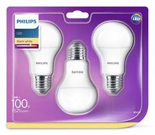 3er-Set Philips E27 LED Birne EyeComfort 13W warmweiss 2700K wie 100W