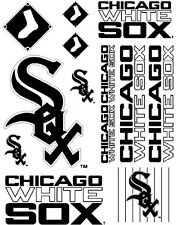 Chicago White Sox Scrapbooking Craft Sticker Sheet Set #1