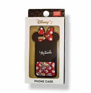 PRIMARK Disney Minnie Mouse Silicone Glitter iPhone Case 6 6S 7 8 SE