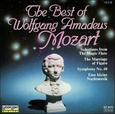 The Best of Wolfgang Amadeus Mozart (CD, Oct-1990, Laserlight)