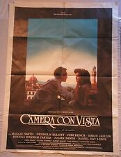 Manifesto CAMERA CON VISTA 1986  E.M.FORSTER MAGGIE SMITH HELENA BONHAM CARTER2F