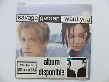 CD Single SAVAGE GARDEN I want you 5099766429410