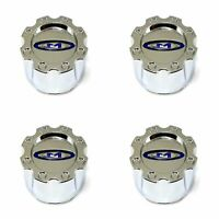 4 Moto Metal Chrome Wheel Center Hub Caps 5/6Lug MO951