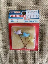 Vintage WESTRIM CRAFTS Pastel BIRD Picks * NEW OLD STOCK