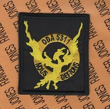 3rd Bn 5th Special Forces Group Airborne SFGA ODA 5311 OEF pocket patch