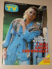 TV SORRISI CANZONI=1986/49=GIANNA NANNINI=BRUCE SPRINGSTEEN=PHOEBE CATES=LOPEZ M