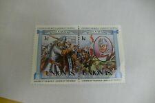 Union Island set of 2 postage stamps philately philatelic Kiloware