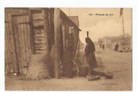 CPA AFRIQUE , AOF , PILEUSE DE MIL