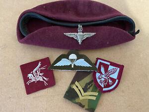 Parachute Regiment Beret And Badges
