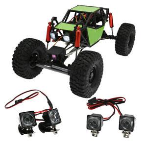 RC Car Lights Headlights Spotlight Fit for WPL MN RC Car DIY Upgrade Parts Toys