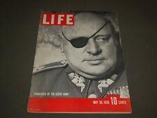 1938 MAY 30 LIFE MAGAZINE - CZECH GENERAL JAN SIRVOY - BO 293