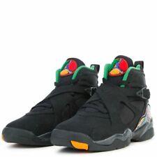 Nike Air Jordan 8 Retro BG SZ 5Y Black Light Concord Aloe Verde 305368-004  887228064409  d1b6c3fd2