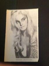 73-1 Ephemera 1969 Picture Actress Victoria Vetri