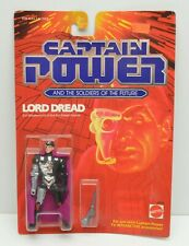 CAPTAIN POWER Lord Dread action figure Mattel 1987 NIP Soldiers of the Future