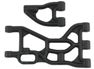 RPM 82252 Rear Upper & Lower A-Arms Black HPI Baja 5B/5T