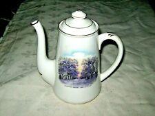 A Vintage English Shelley Souvenir Teapot Jacaranda Ave Grafton NSW for R.T. Cox
