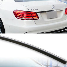 MERCEDES BENZ E-CLASS Saloon W212 2009-2015 REAR SPOILER BOOT LIP  UK SELLER
