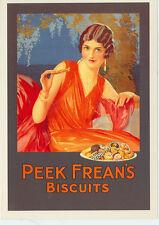 """PEEK FREAN'S BISCUITS-GLAMOROUS LADY-ADV.-REPRO-4""""X6""""(DV-330*)"""