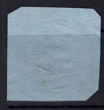 Great Britain - Embossed Revenue - 9p - 1869 Bill Stamp (Sm. Thin) - 090415