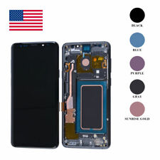 LCD Display Touch Screen Digitizer Assembly+Frame For Samsung Galaxy S9 OEM OLED